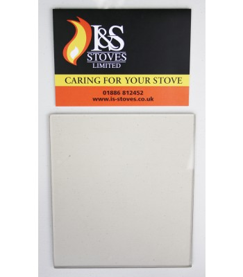 Villager A Replacement Stove Glass 185mm x 164mm