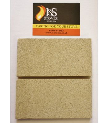 Villager Standard Fire Brick 4.5 x 9 Inches Pack of Two VFS029
